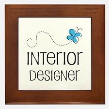 Cute Interior designer Framed Tile