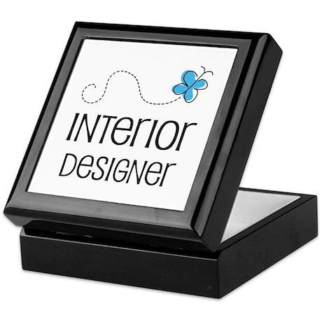 Cute Interior designer Keepsake Box
