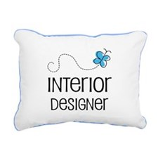 Cute Interior designer Rectangular Canvas Pillow