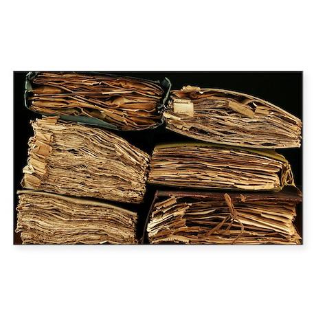 Botanical collection - Sticker (Rectangle 50 pk)