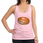 Bagel and Cream Cheese Racerback Tank Top