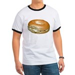 Bagel and Cream Cheese Ringer T