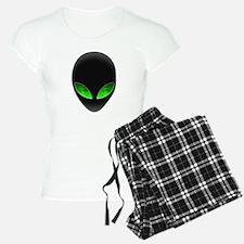 Cool Alien Earth Eye Reflection Pajamas