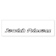 Jewish Princess Bumper Sticker