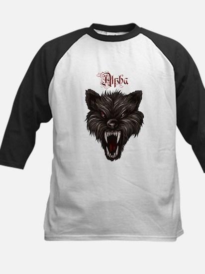 Alpha Dog Wolf Baseball Jersey