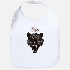 Alpha Dog Wolf Bib