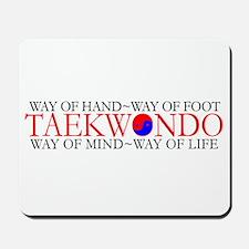 Tae Kwon Do Philosophy Mousepad