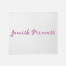 Jewish Princess Throw Blanket