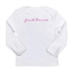 Jewish Princess Long Sleeve Infant T-Shirt