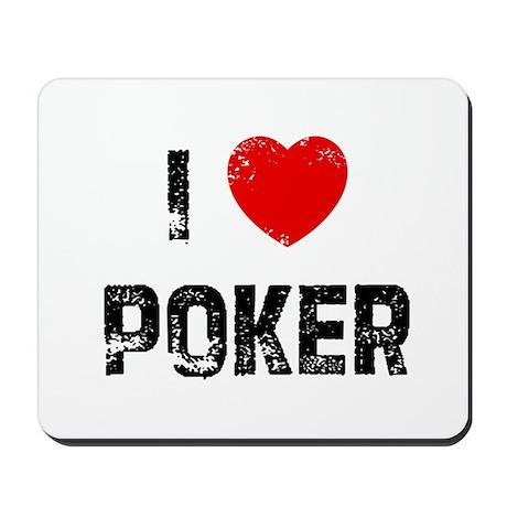 I * Poker Mousepad