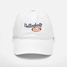 Volleyball Girl Baseball Baseball Cap