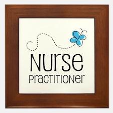 Cute Nurse practitioner Framed Tile