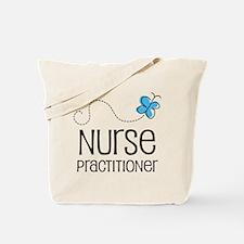 Cute Nurse practitioner Tote Bag