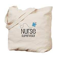 Cute Nurse supervisor Tote Bag