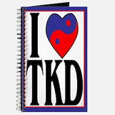 I Love Heart Tae Kwon Do Journal