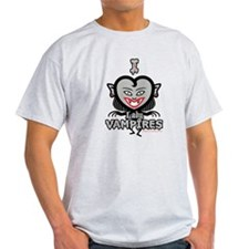 I Love Lady Vampires T-Shirt