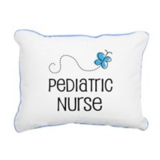 Cute Pediatric nurse Rectangular Canvas Pillow