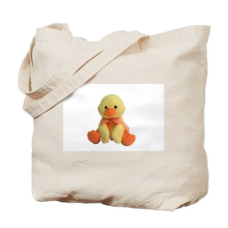 Plush Duck Tote Bag