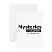 Unique Mystery Greeting Cards (Pk of 10)