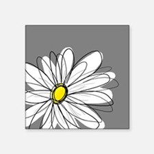 Modern Daisies - gr... Sticker