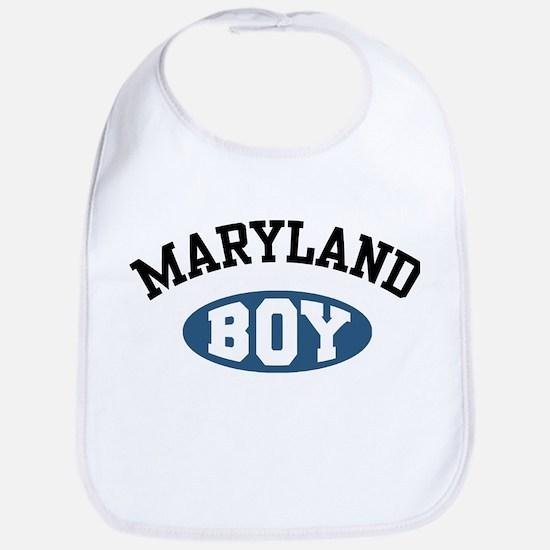 Maryland Boy Bib
