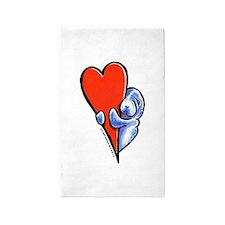Love Manatees 3'x5' Area Rug