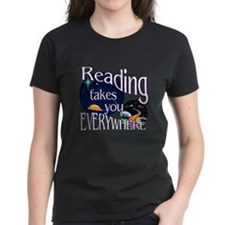 Reading Takes You Away Tee