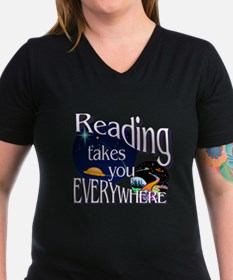 Reading Takes You Ever Shirt