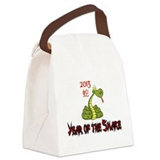 2013 Year of the Snake Canvas Lunch Bag