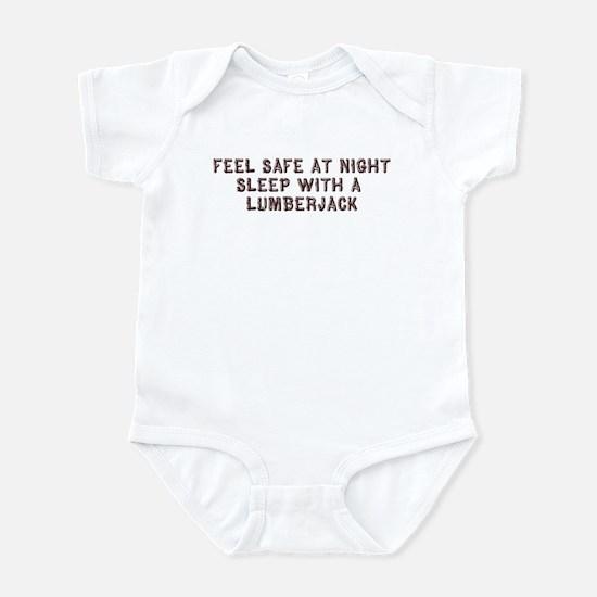 Feel Safe With a Lumberjack Infant Bodysuit