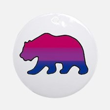 Bisexual Bears Ornament (Round)