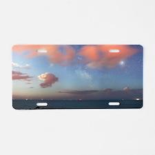 ght sky - Aluminum License Plate