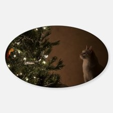 Christmas Cat Decal