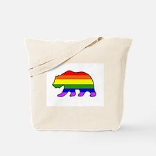 Rainbow Bear 2 Tote Bag