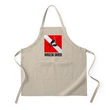 Wreck Diver (blk) Apron