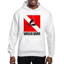 Wreck Diver (blk) Hoodie