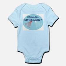 I Depend on Divine Mercy Body Suit