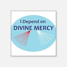 I Depend on Divine Mercy Sticker