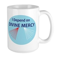 I Depend on Divine Mercy Mug