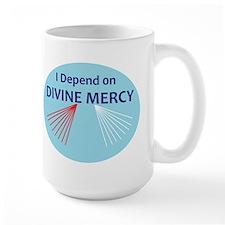 I Depend on Divine Mercy Mug