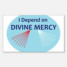 I Depend on Divine Mercy Decal