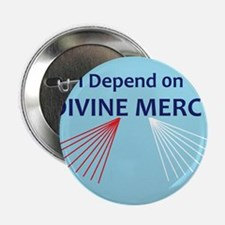 "I Depend on Divine Mercy 2.25"" Button"