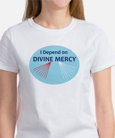 I Depend on Divine Mercy T-Shirt