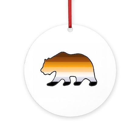 Bear 2 Ornament (Round)