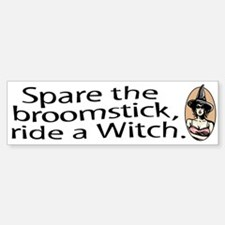 Ride a Witch halloween Bumper Bumper Bumper Sticker