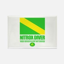 Nitrox Diver Rectangle Magnet