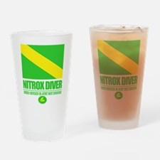 Nitrox Diver Drinking Glass