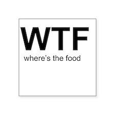 WTFood Sticker