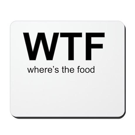 WTFood Mousepad