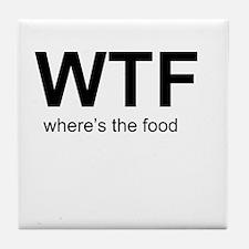 WTFood Tile Coaster